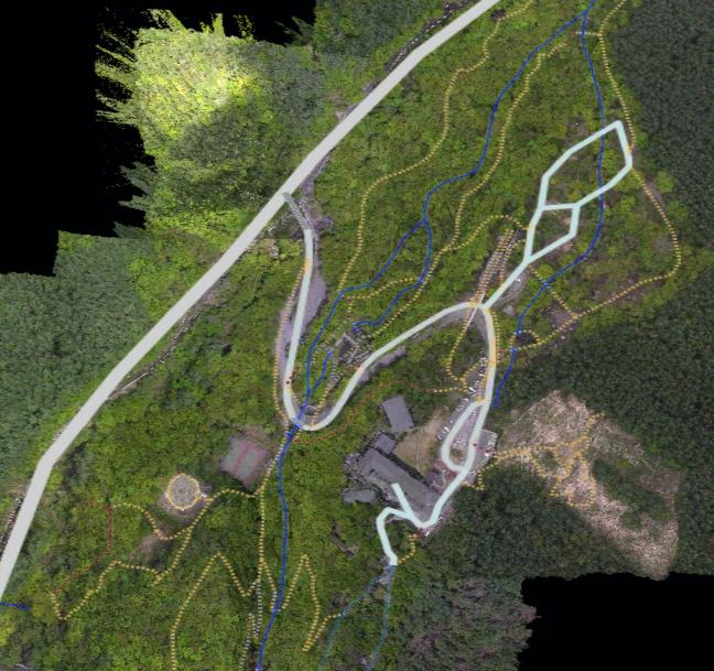 図3:地図と航空写真
